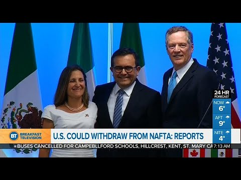 How a U.S. withdrawal from NAFTA could impact Canadians