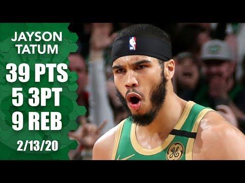 Jayson Tatum drops 39 points in 2OT thriller vs. Clippers | 2019-20 NBA Highlights