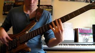 Justin Raines - Bass Solo Cover (Gospel)