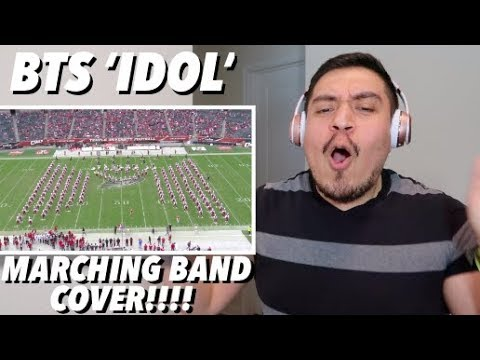 BTS Idol By Bangtan Boys Marching Band Cover REACTION