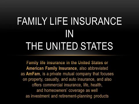 Family Life Insurance in the United States