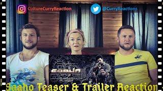 Saaho Teaser + Trailer I Double Bill Reactions I Prabhas Shraddha Kapoor Neil Nitin Mukesh