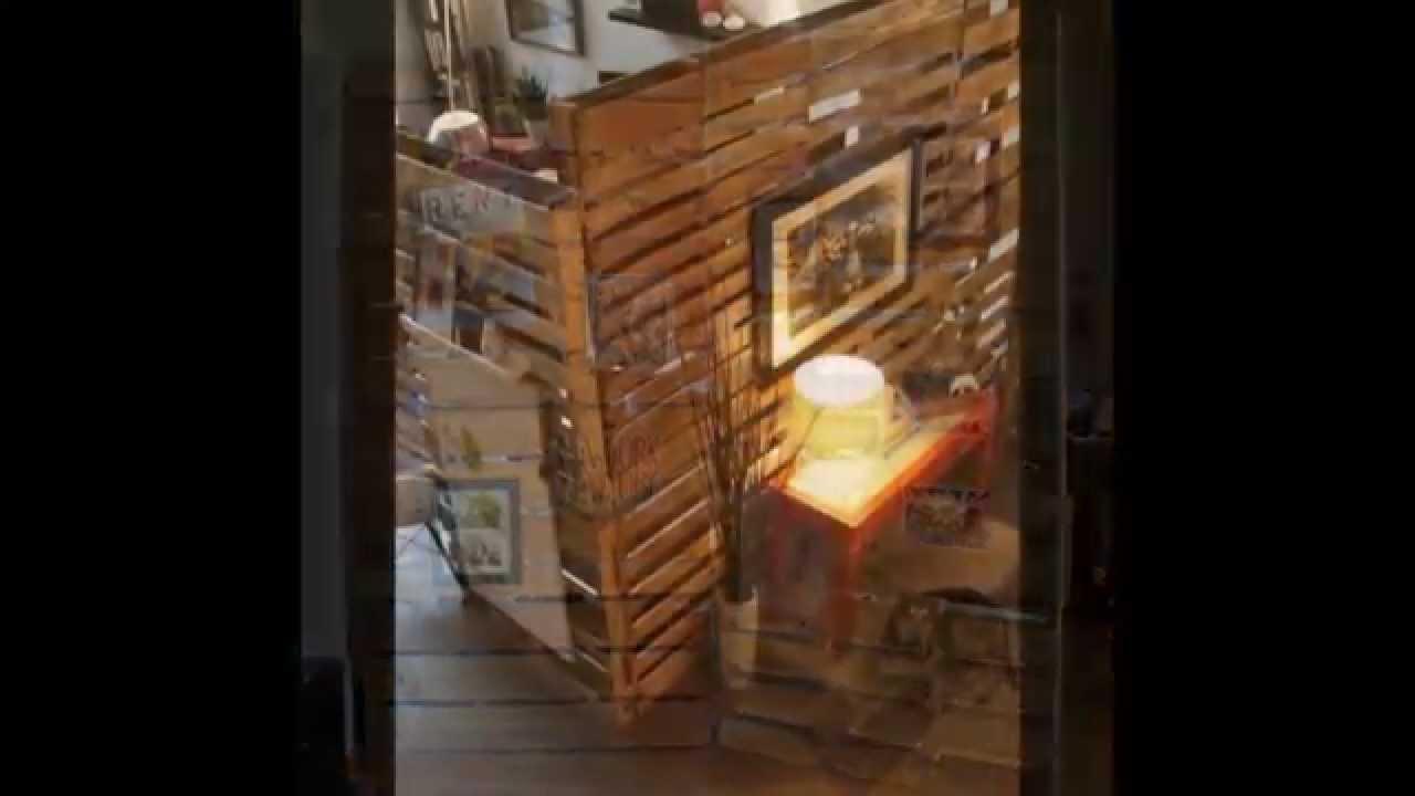 ideas de muebles hechos con palets  YouTube