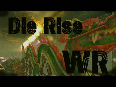 Die Rise Rounds 1-34 - Black Ops 2 Zombies - Revolution Map Pack 4 Player Co-op