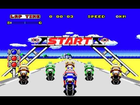 Super Hang-On (Mega Drive) - complete Original Mode (part 1)