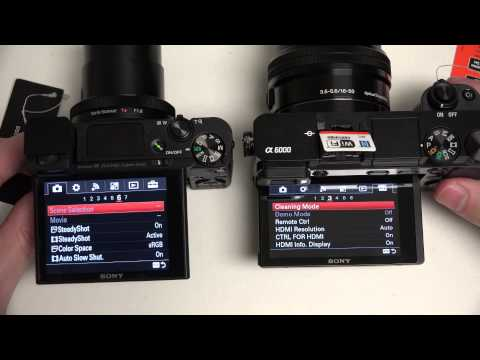 Sony Cyber-shot DSC-RX100M3 vs Alpha A6000