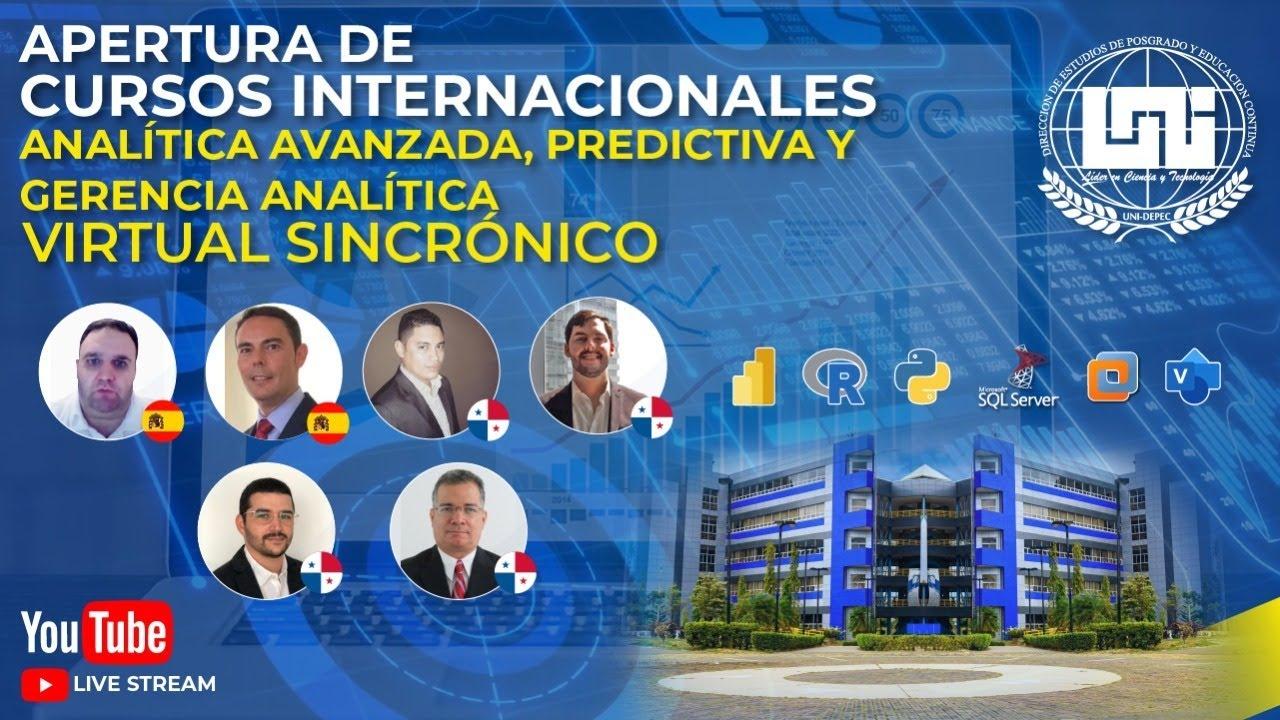 Download Apertura de Cursos Internacionales de Analítica Avanzada, Predictiva y Gerencia Analítica