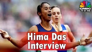 Hima Das Interview | Working With Adidas Will Encourage People To Enter Sports | CNBC TV18
