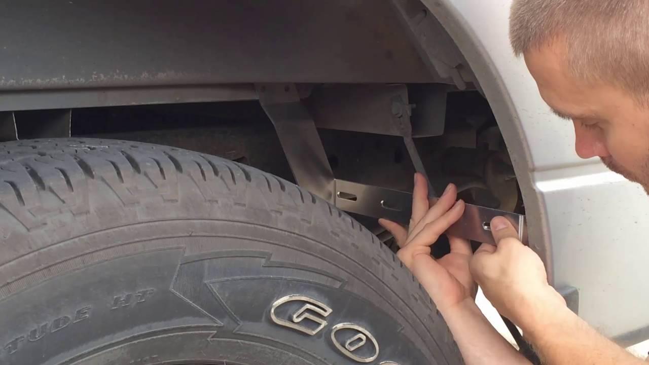 Gatorback Mud Flap Universal Bracket Style 2 Gb758053 Overview