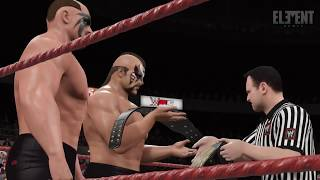 WWE 2K16 The Road Warriors / Legion of Doom - Entrance & Doomsday Device (CC)