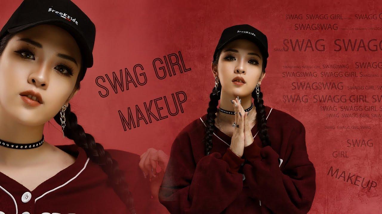 SWAG GIRL Makeup – Trang Điểm Style Cô Nàng Cá Tính   Linh Linh Makeup