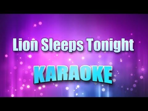 Tokens - Lion Sleeps Tonight (Karaoke & Lyrics)