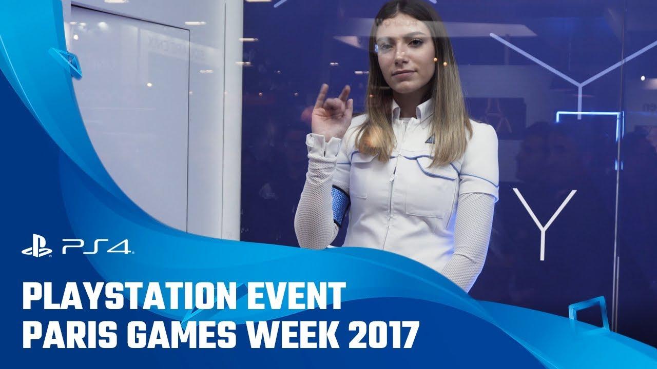 Paris Games Week 2017 | Event | PlayStation