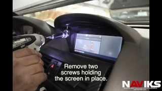 BMW 6 Series E63 E64 2004 - 2009 NAVIKS Video Integration Interface Install