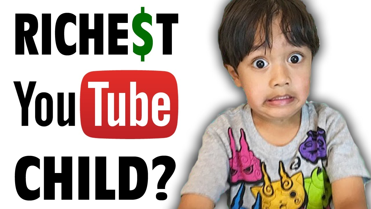 8f352f938d3 The Richest Child on Youtube  Ryan s Toys Reviews - Internet Hall of Fame -  GFM (RyanToysReview) - YouTube