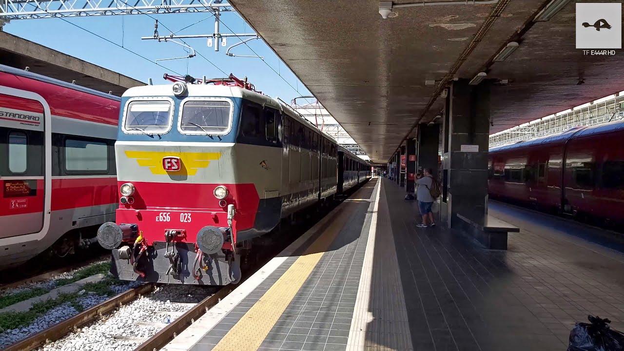 E656.023+Treno Presidenziale sull'INV Roma T.ni-Milano C ...