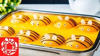 Торт Пчелки. Самый лучший торт на Детский День Рождения!