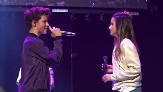 Hayden Summerall and Annie LeBlanc - Little Do You Know (Live)