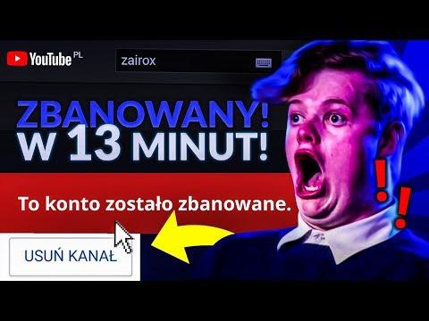 JAK STRACIŁEM KANAŁ W 13 MINUT! *masakra* | ZairoxTV