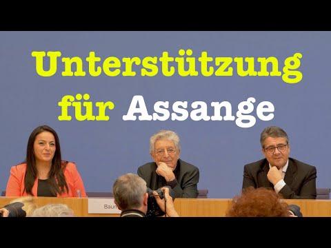 Appell zur Freilassung von Julian Assange - Komplette BPK 6. Februar 2020