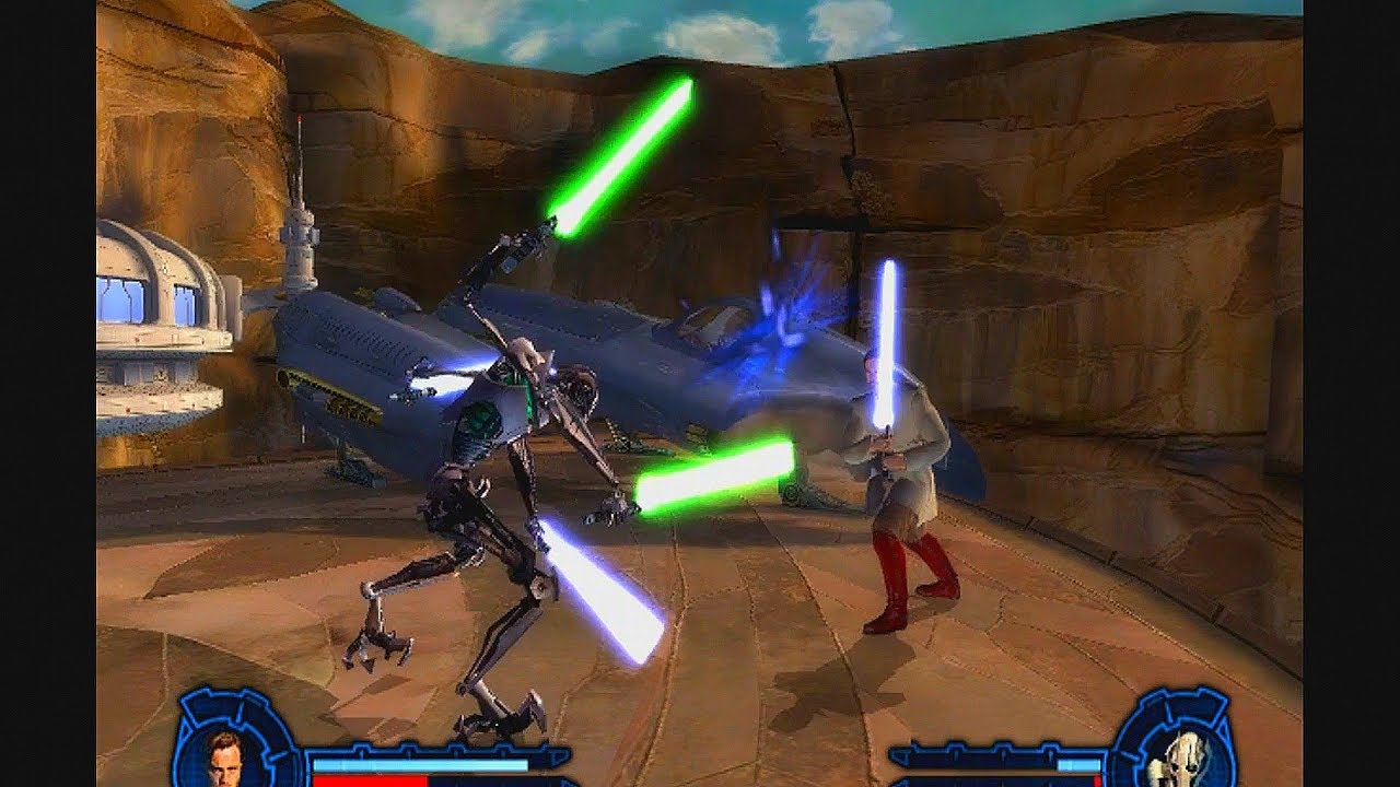 star wars episode iii revenge of the sith video games