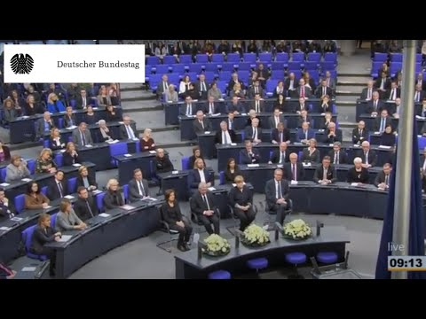 The German Bundestag: Remembrance for the victims of National Socialism