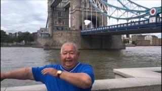 Казахи танцуют камажай в Англии (Лондон, Портсмут, Гилдфорд и Хэмптон)