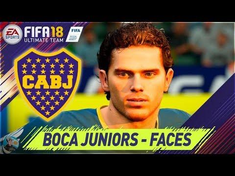 FIFA 18 Boca Juniors Caras / Faces