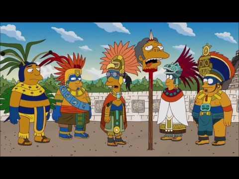 La Casita Del Horror 23 Intro Maya Los Simpson