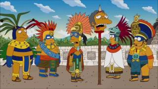 La Casita Del Horror 23 Intro Maya Los Simpson