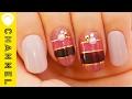 マスキングテープで!?簡単ぶどう色ボーダーネイル | Grape border nails
