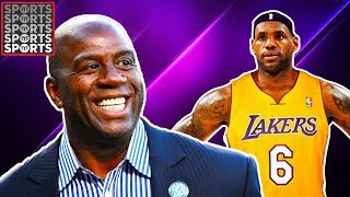 Magic Johnson Wants LeBron On The Lakers