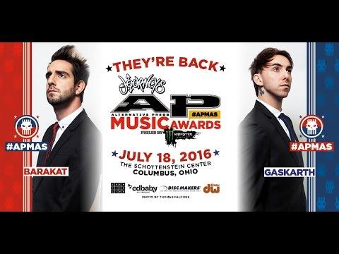 Alex & Jack return to host the 2016 Alternative Press Music Awards!