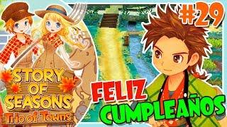 FELIZ CUMPLEAÑOS, HINATA!! #29 STORY OF SEASONS TRIO OF TOWNS