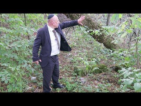 ESJF visit to the Jewish cemetery in Dubno in Rivne Oblast in NW Ukraine