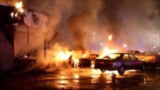 Hempstead FD Building Fire – Henry Street/Albemarle Avenue [12-14-15]