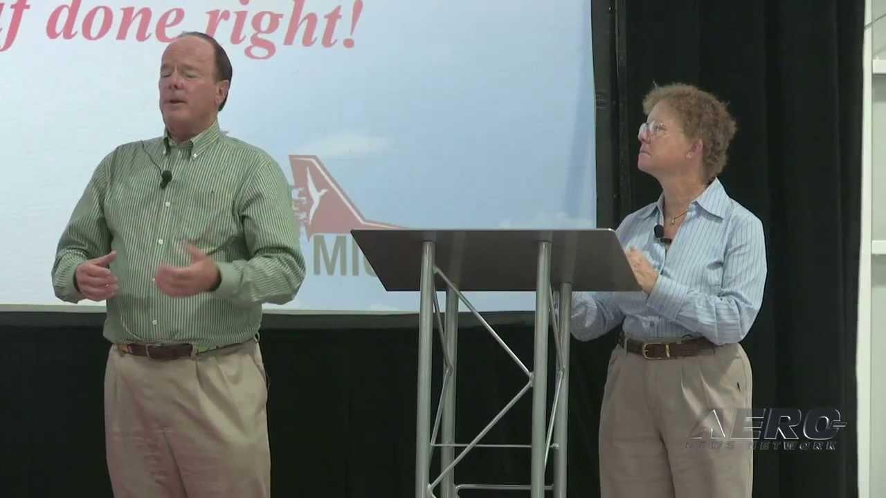 San Marcos Tx News >> Aero-TV: John & Martha King - Redbird Migration Flight Training Conference 2013 - YouTube
