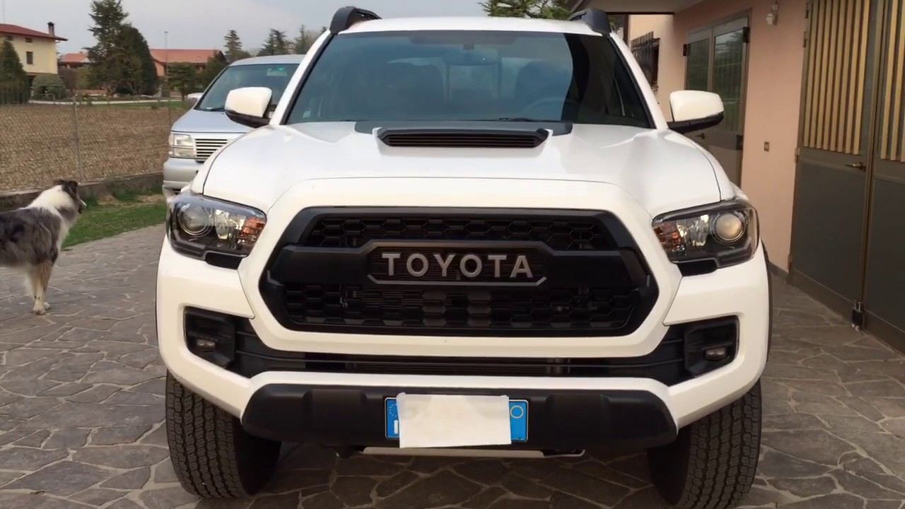 Super White or Cement Grey? - 2017 Tacoma TRD Pro - YouTube