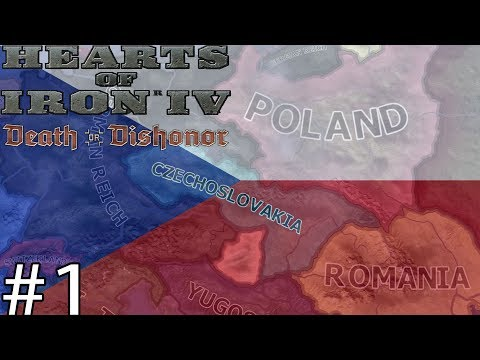 NO SURRENDER! - Hearts Of Iron IV Czechoslovakia Lets Play #1