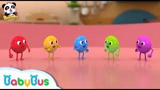★NEW★5兄弟 お外でプール遊びしたよ! | 赤ちゃんが喜ぶアニメ | 動画 | BabyBus
