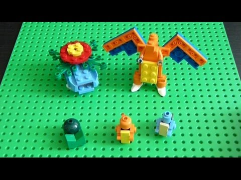 Lego Pokemon Instructions Part 19 Kanto Starters Revisited Youtube