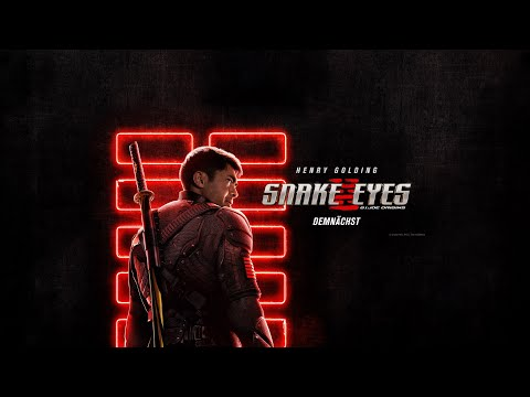 SNAKE EYES: G.I JOE ORIGINS | OFFIZIELLER TRAILER | Paramount Pictures Germany | Trailer FSK: 12