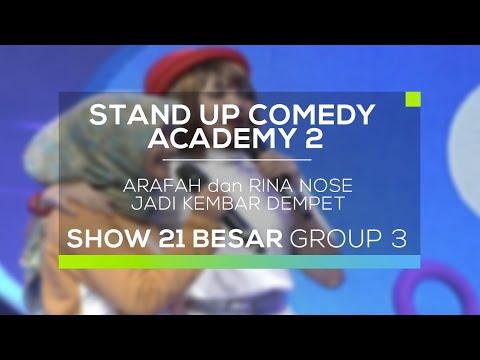 Arafah dan Rina Nose Jadi Kembar Dempet (SUCA 2 - Improv Comedy)