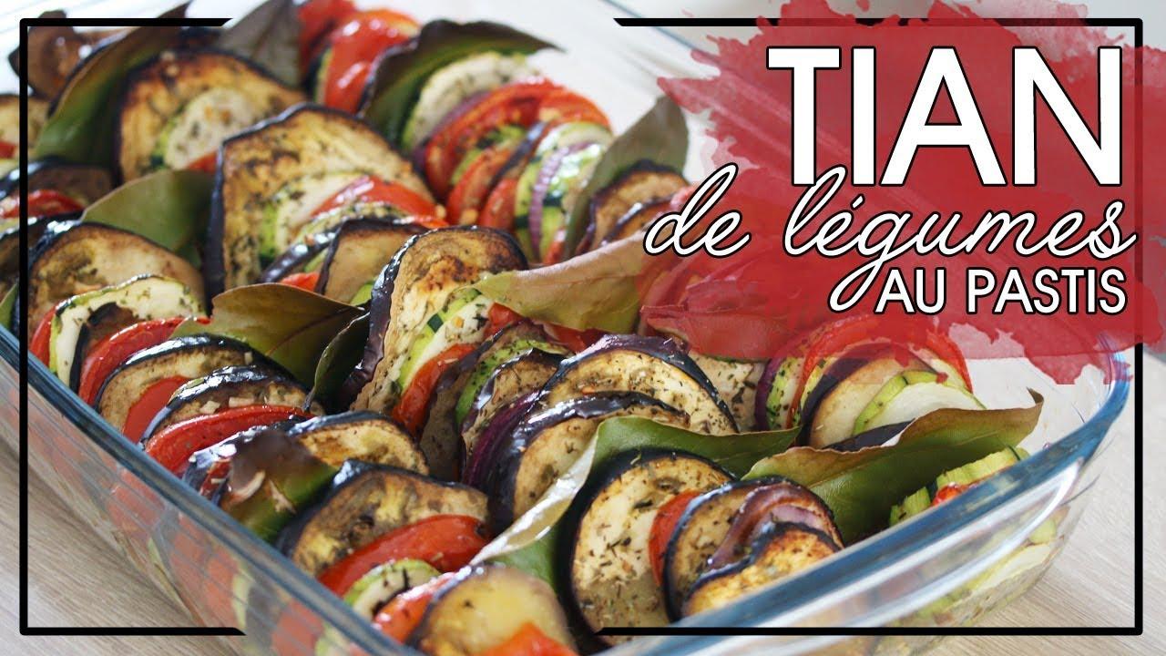 Recette Facile Du Tian Provencal la minute veggie : le tian de légumes au pastis !