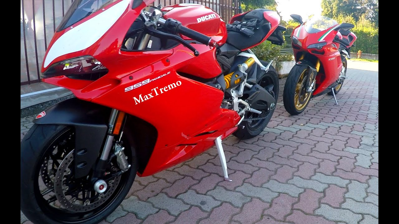 DUCATI 1098 S Vs 959 PANIGALE: TRY TO CATCH ME (VIDEO 4K) - YouTube