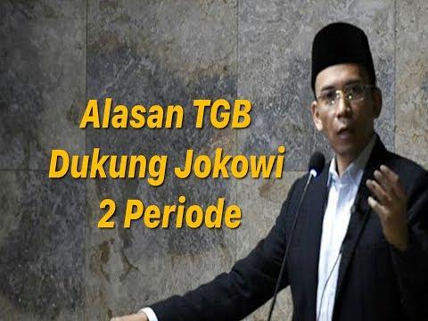 Ini Alasan TGB Dukung Jokowi 2 Periode