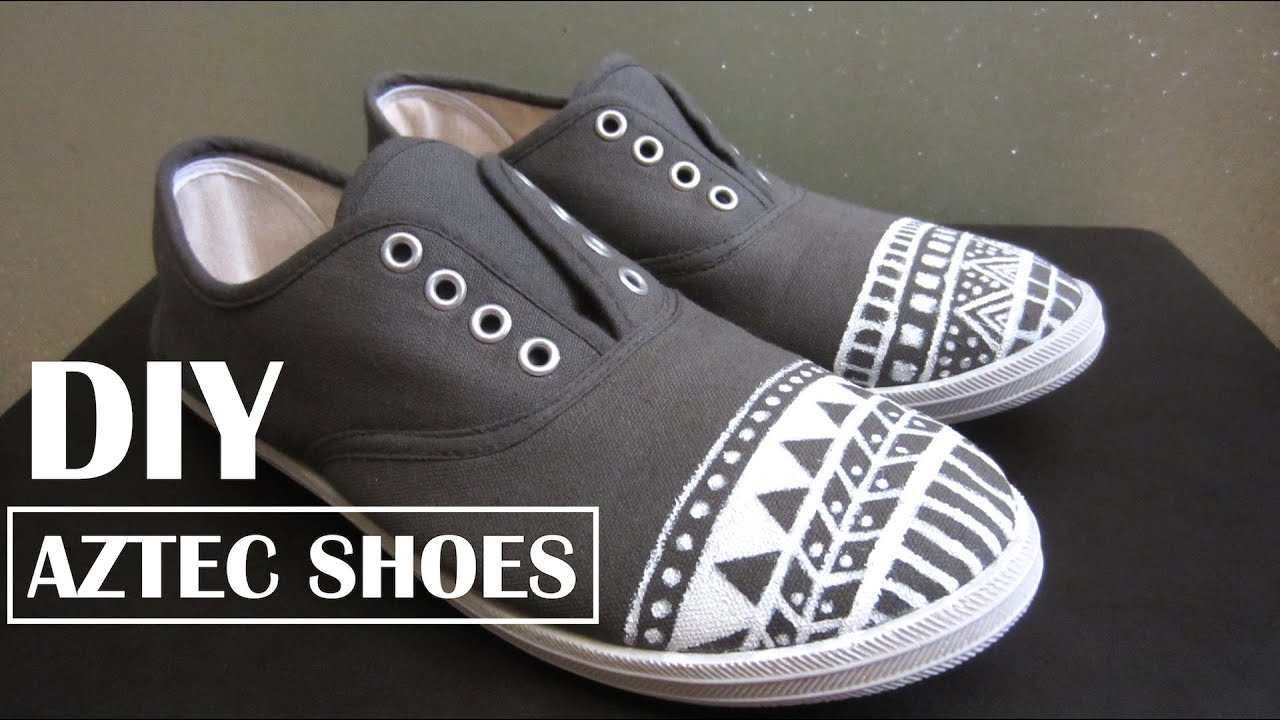 Customize Shoes with Acrylic Paint