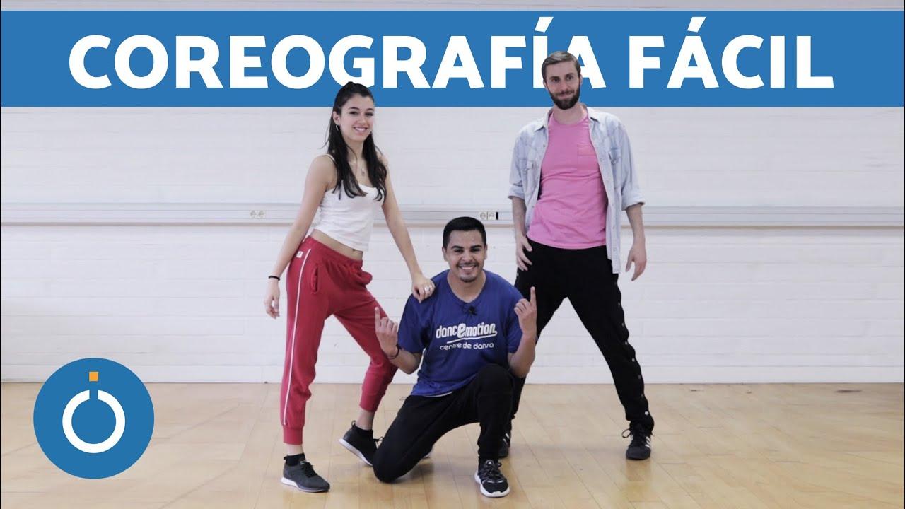 Coreografía De Hip Hop Fácil Paso A Paso Youtube