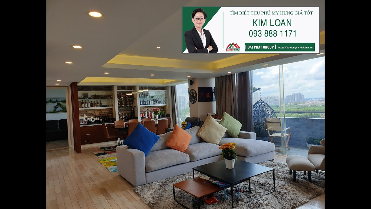 💖Bán penthouse Garden Court, Phú Mỹ Hưng view sông và bến du thuyền 5 sao tuyệt đẹp.