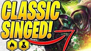 CLASSIC SINGED! - Teamfight Tactics TFT Ranked Strategy 10.4B Best Comp SET 2 Meta Guide